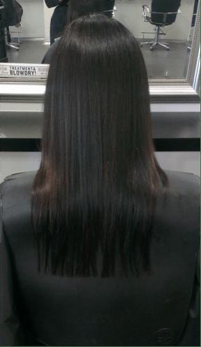Pre-hair Extension Haircut